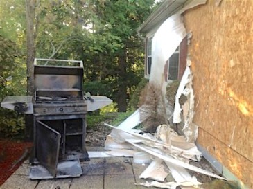 gas grill explosion